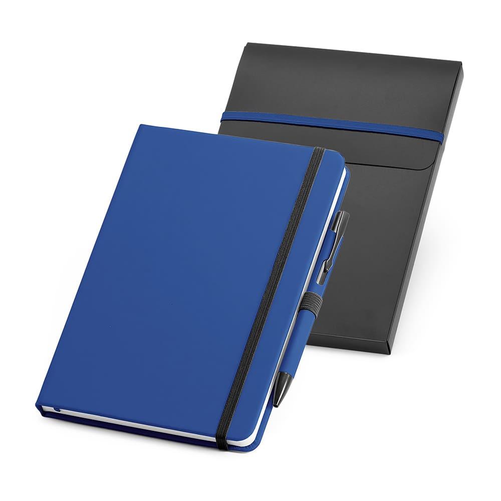 Kit Caderno e Caneta Esferográfica Personalizado
