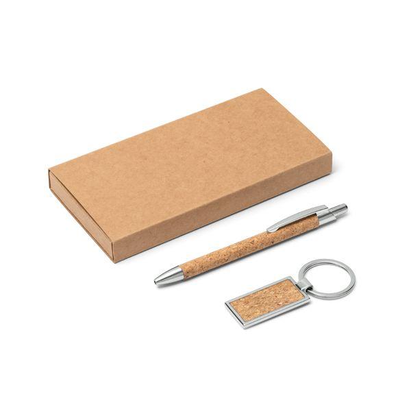 Kit Esferográfica e Chaveiro Personalizado