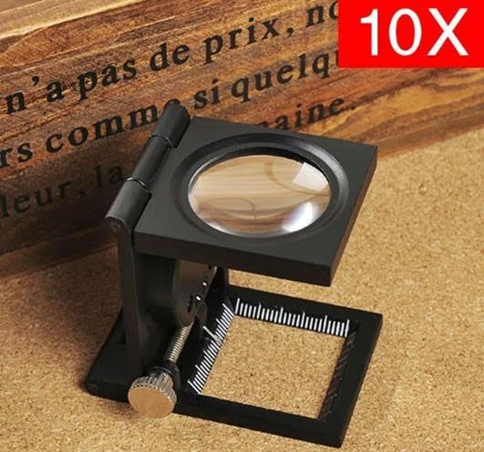 Lupa Conta Fios LED 10x Personalizada
