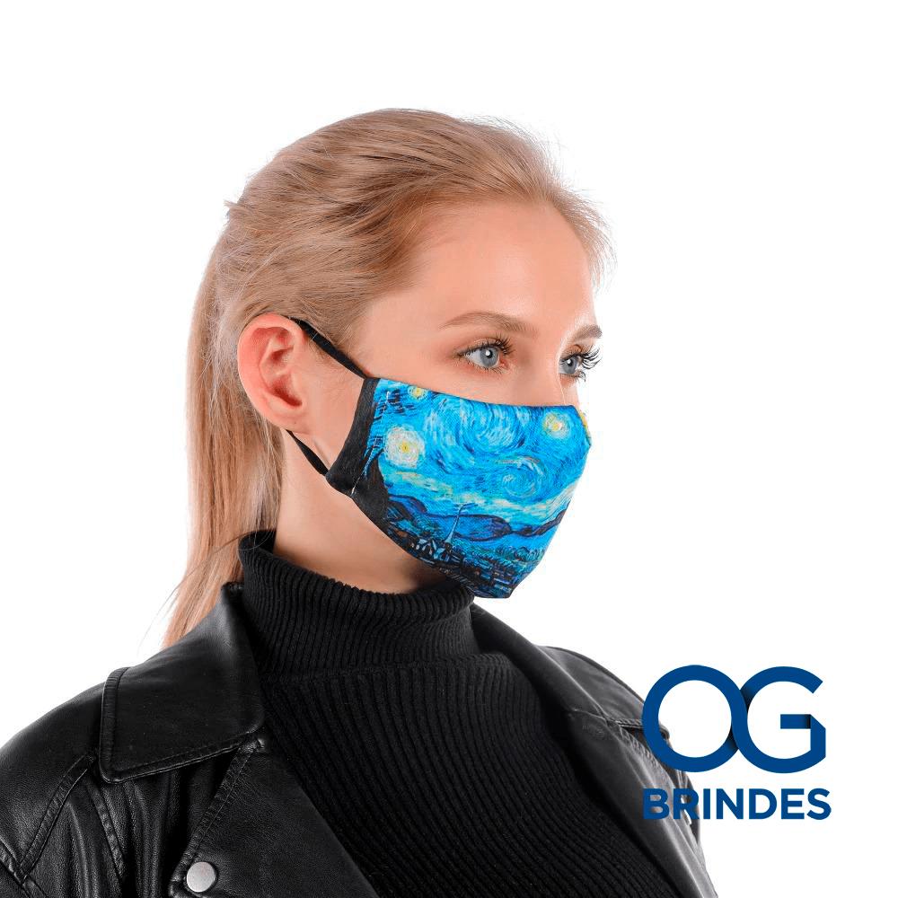 Máscara Lavável Sublimação Personalizada
