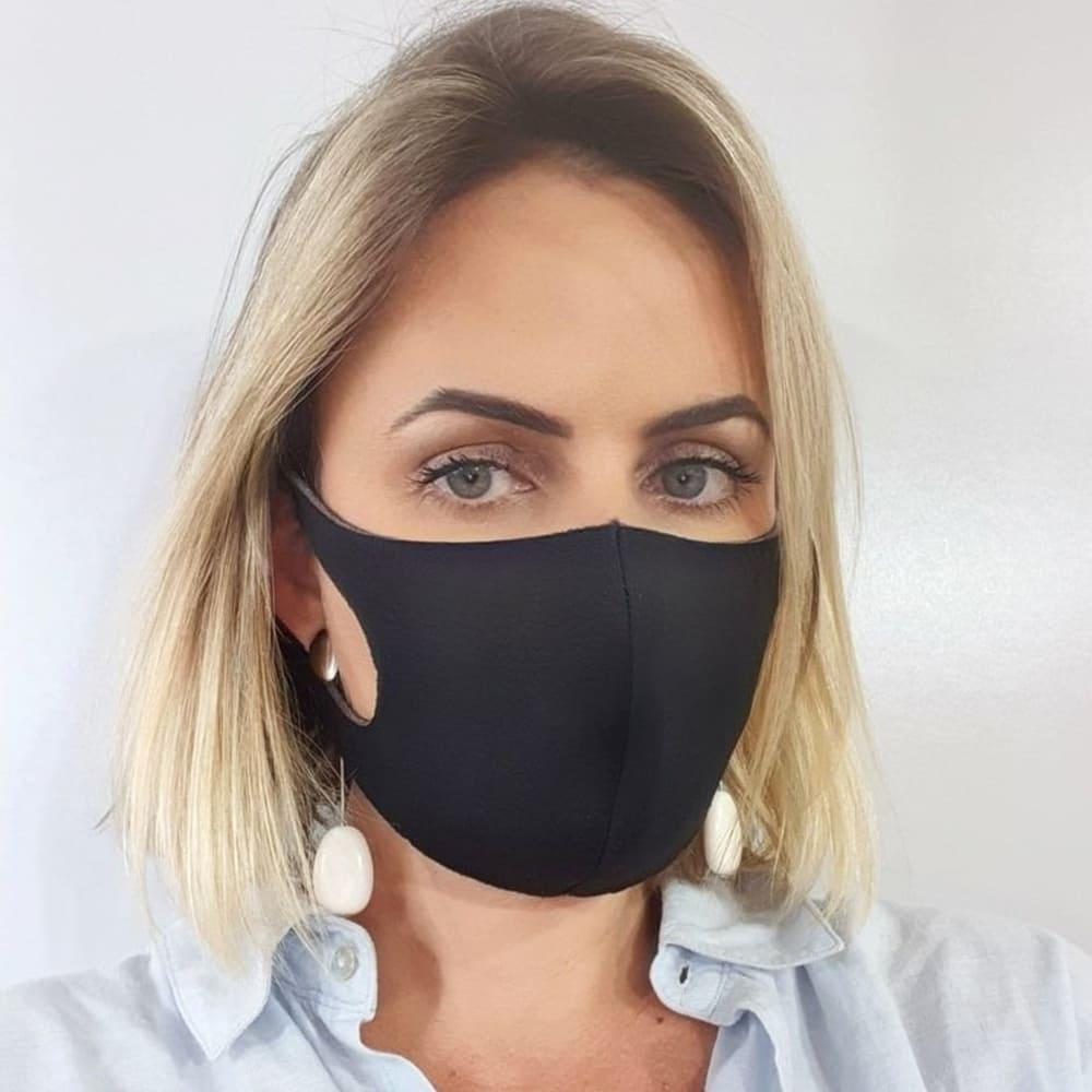 Máscara Reutilizável de Poliéster Personalizada