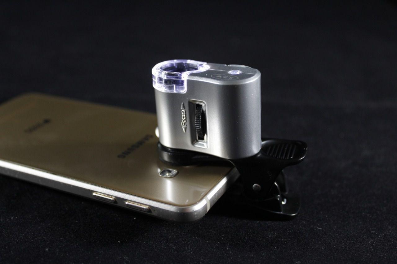 Microscópio de Bolso 60x Personalizado