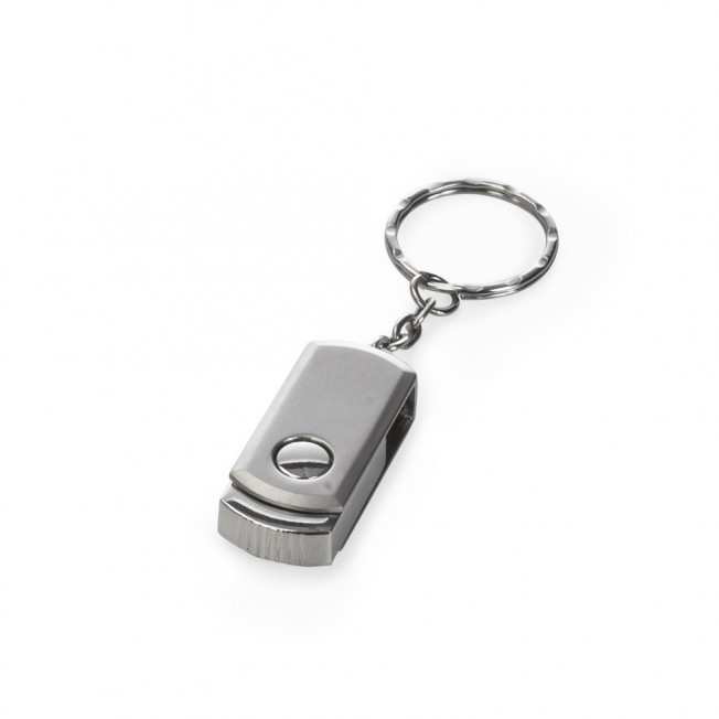 Mini Pen Drive 4GB Giratório Personalizado