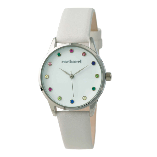 Relógio CACHAREL Couro Personalizado - 41037