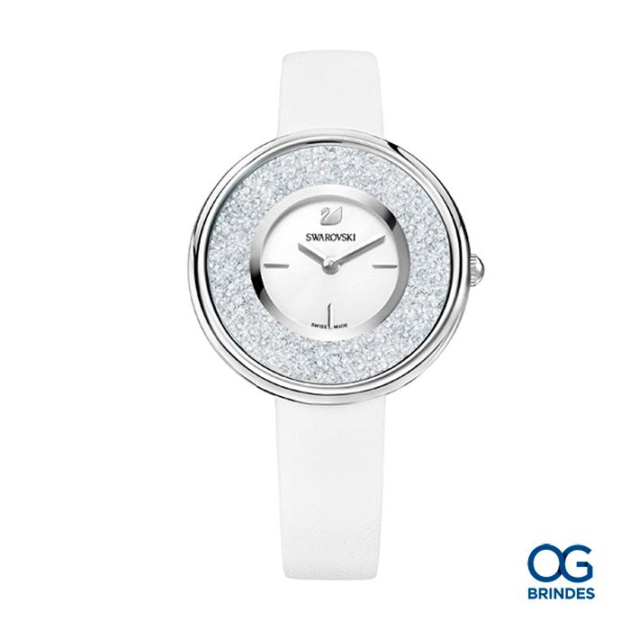 Relógio SWAROVSKI Couro Personalizado - 43018