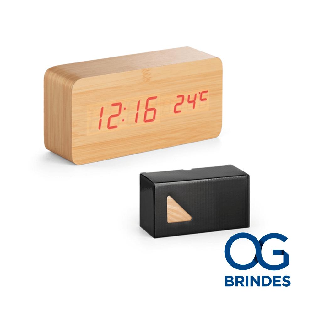Relógio Termômetro Personalizado