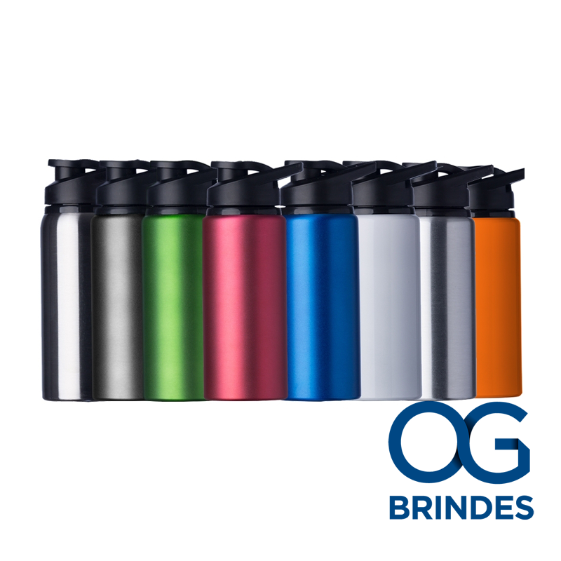 Squeeze Fosco Alumínio 600ml Personalizado