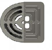 Dispositivo para Piscina Dreno Lateral Em Inox
