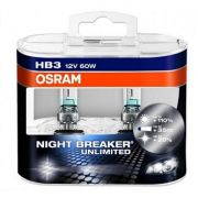 Lâmpadas HB3 9005 NIGHT BREAKER UNLIMITED