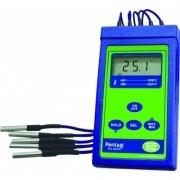 Termômetro Digital Portátil Com 5 Sensores Modelo Penta III