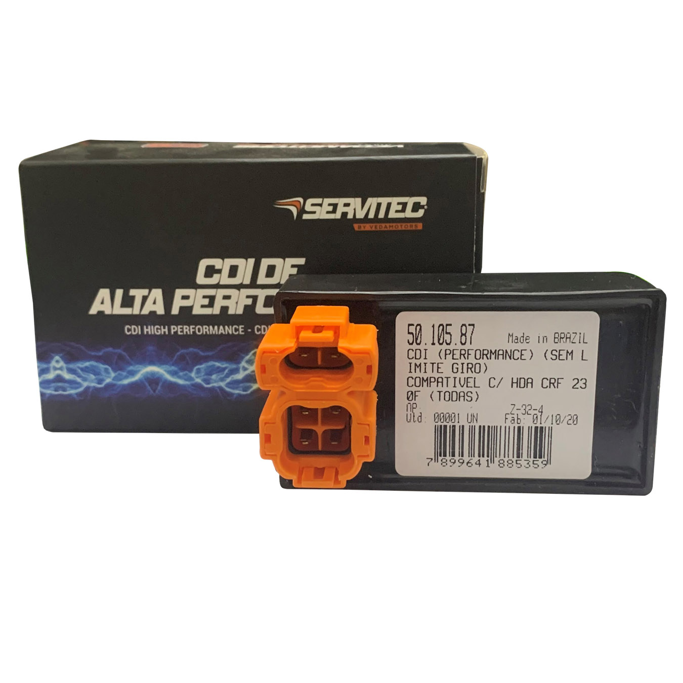 Cdi Compatível Com Crf230f Sem Limitador De Giro Servitec