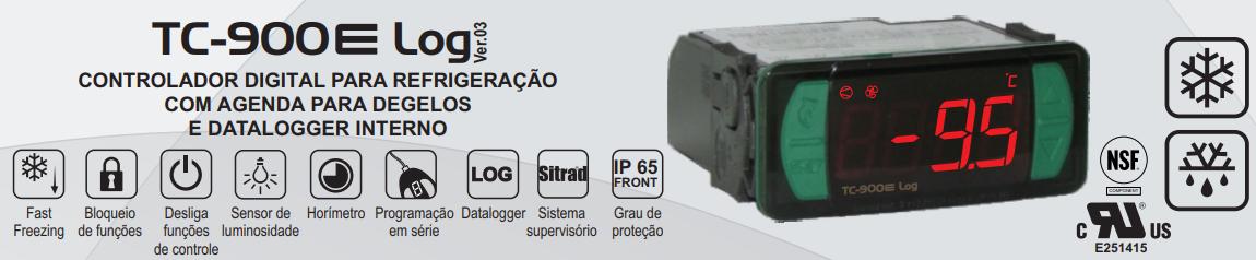 Control. Refrig. Degelo Tc 900e Log 115~230vca