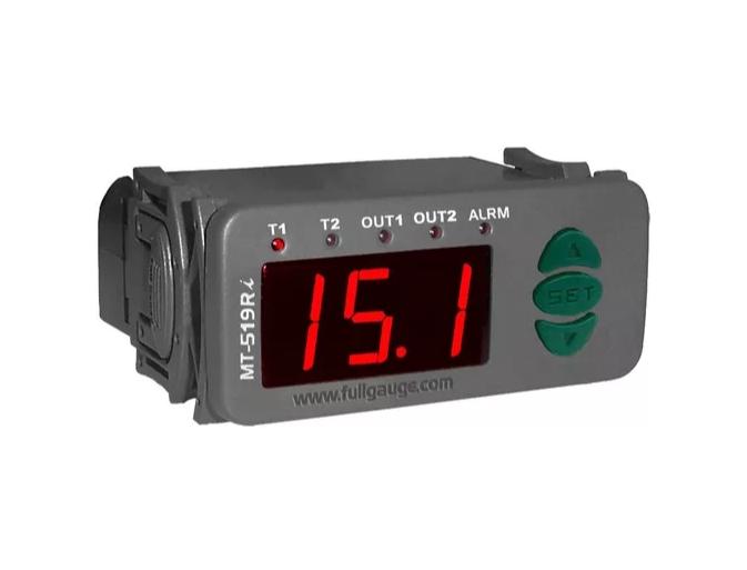 Control. Temperatura 2 Estágios Mt 519E 115~230v
