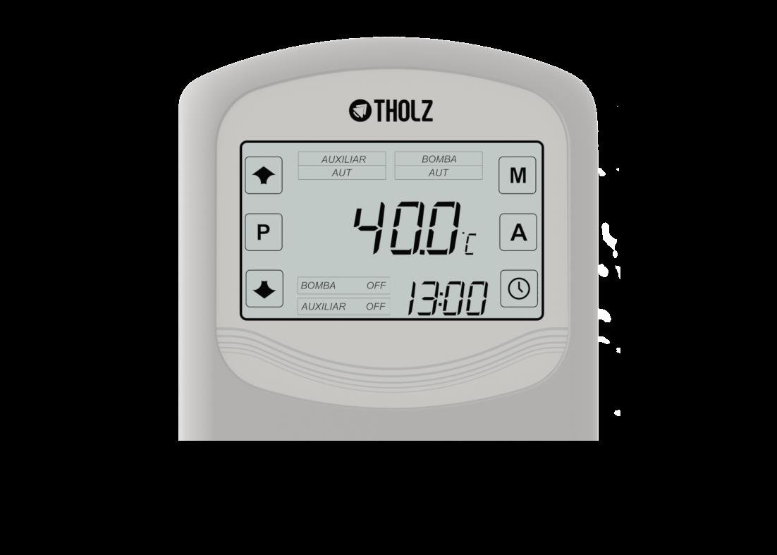 Controlador Aquecimento Solar Residencial TSZ Com 2 apoios