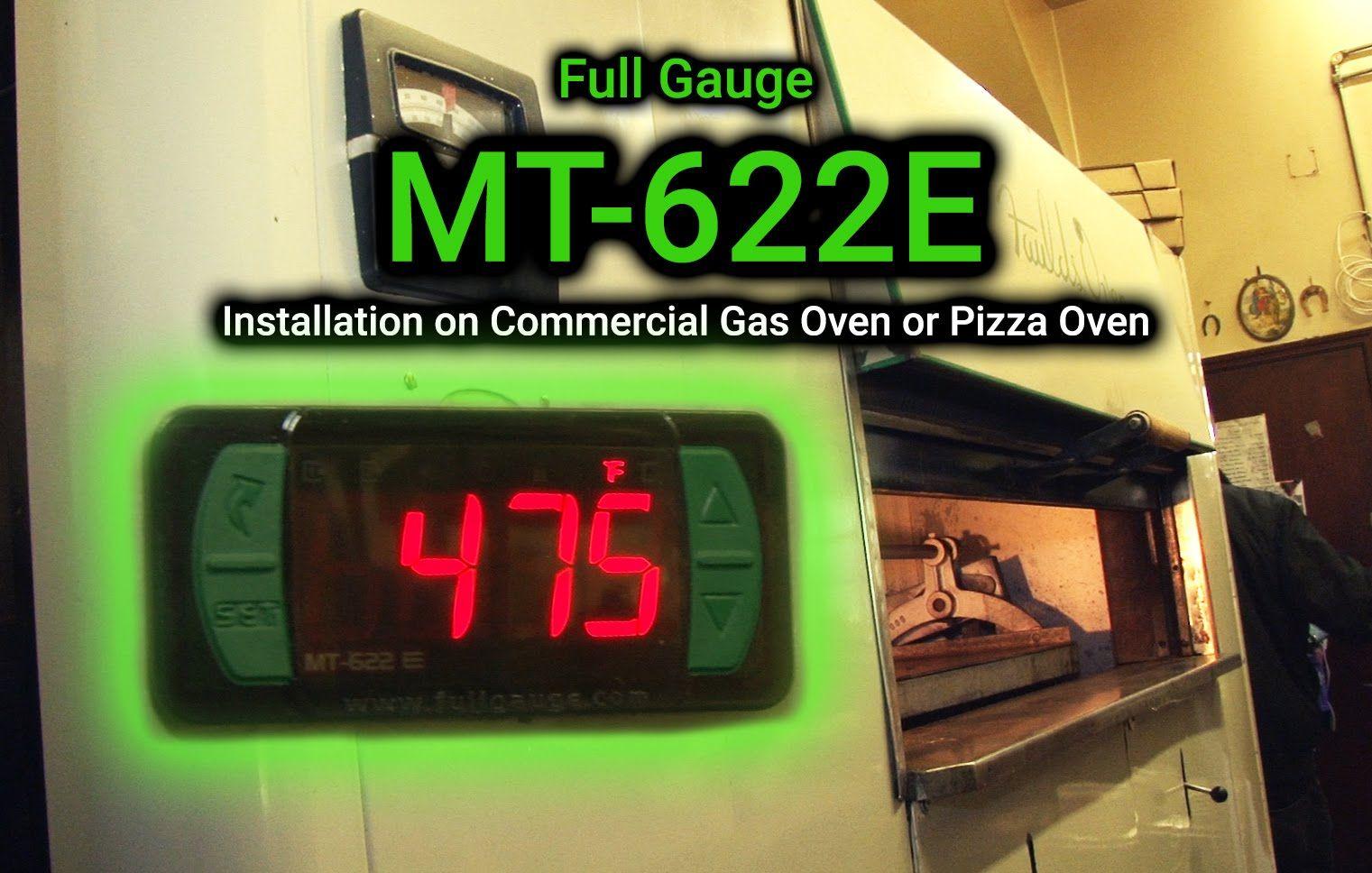 Controlador De Temperatura Forno Termopar Mt 622 e 115~230v