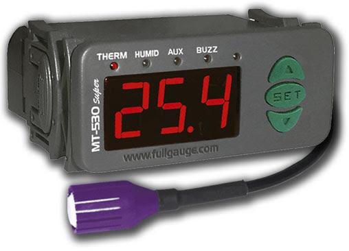 Controlador De Temperatura E Umidade Full Gauge Mt-532 Super