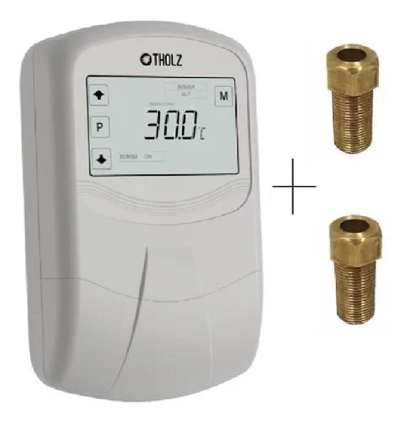 Controlador Por Diferencial de Temperatura MMZ 1195 Com poços termométricos