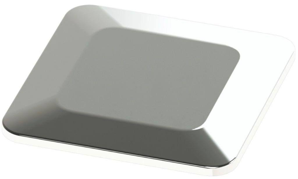 Dispositivo para Piscina Alvenaria Dreno De Fundo Quadrado em Inox