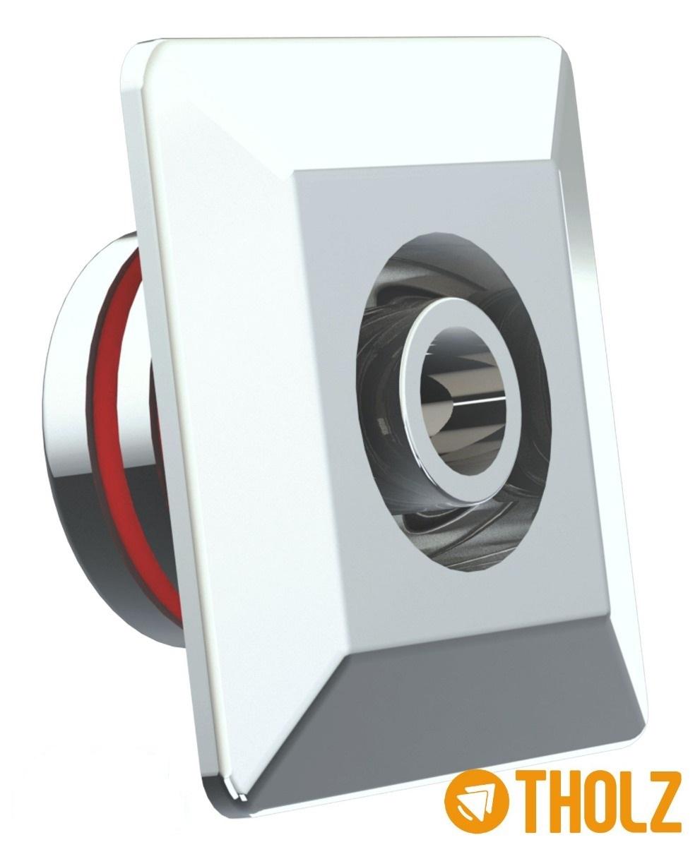Dispositivo Retorno Quadrado Ajustável / Hidromassagem Piscina Em Inox