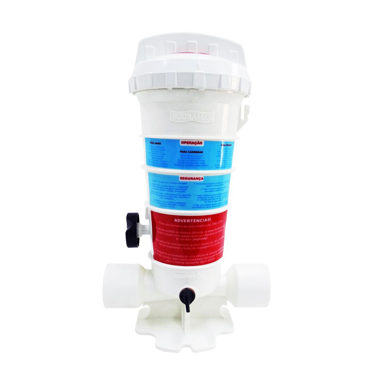 Dosador de Cloro 2kg Sodramar