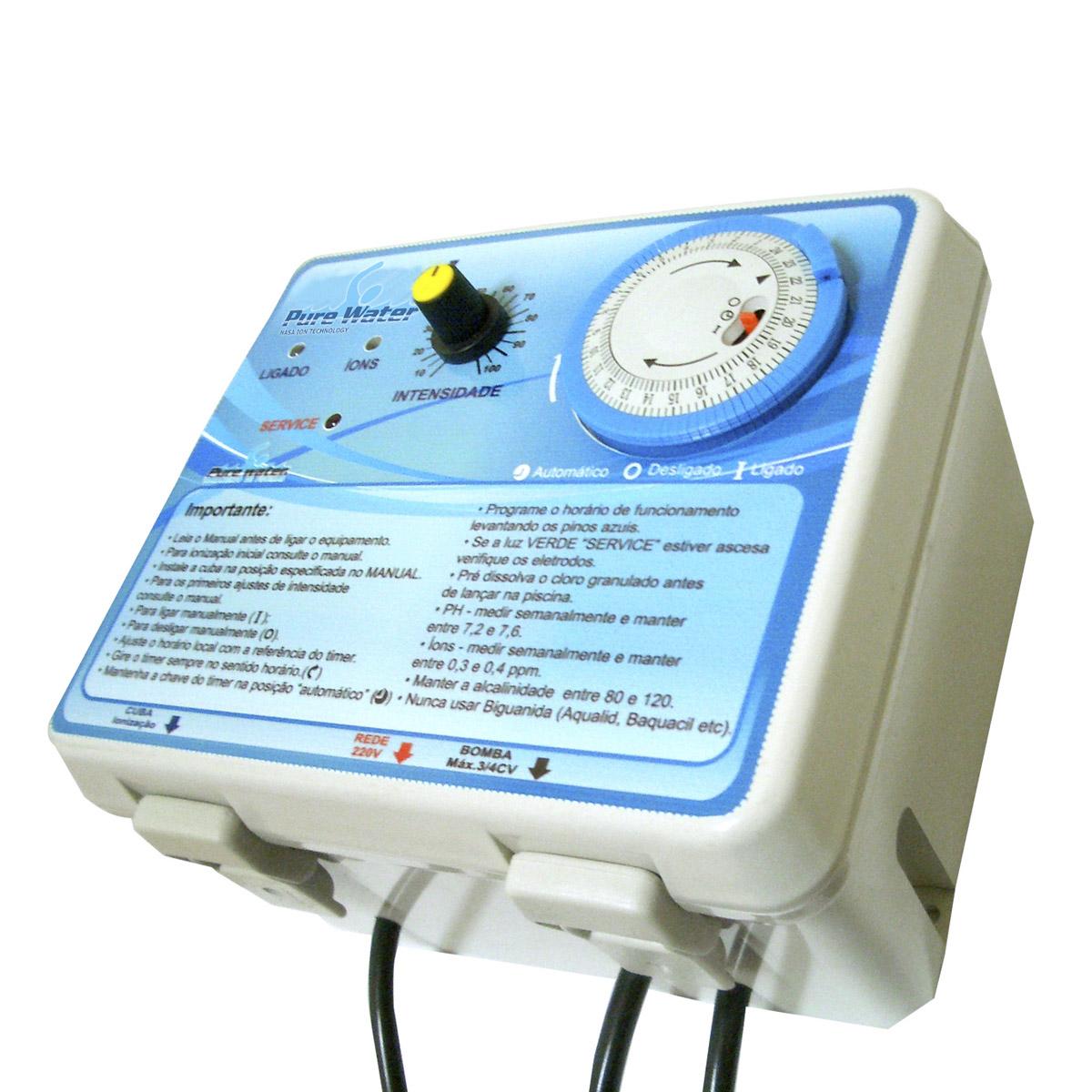 Ionizador 25 M3 Pure Water - PWZ 25 AG+