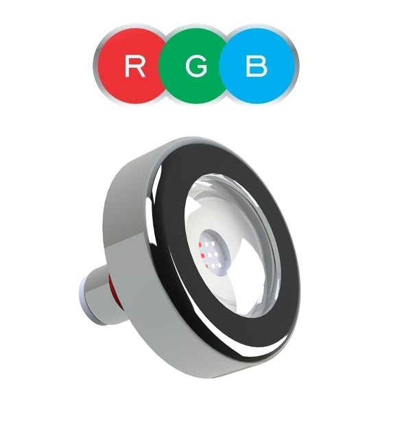 Kit Central Rgb 63w Easy Pool Timer + 5 Refletores 9w Rgb