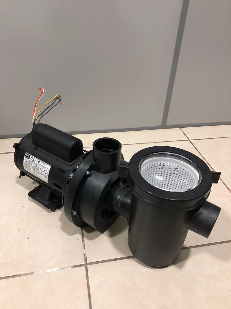 Kit Filtro Acf-20 Piscinas Spas + Motobomba 1/4 Cv