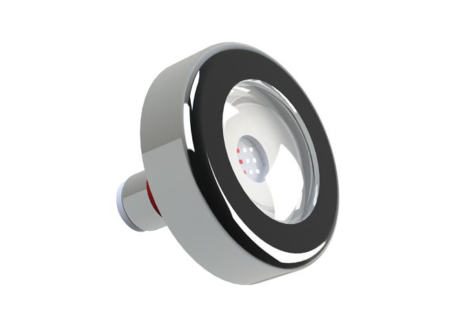 Kit Iluminação Piscina 2 Leds Rgb 9w + Central Touch