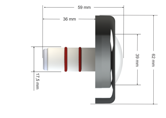 Kit Max Touch Pool Mtz + Iluminação de Piscina