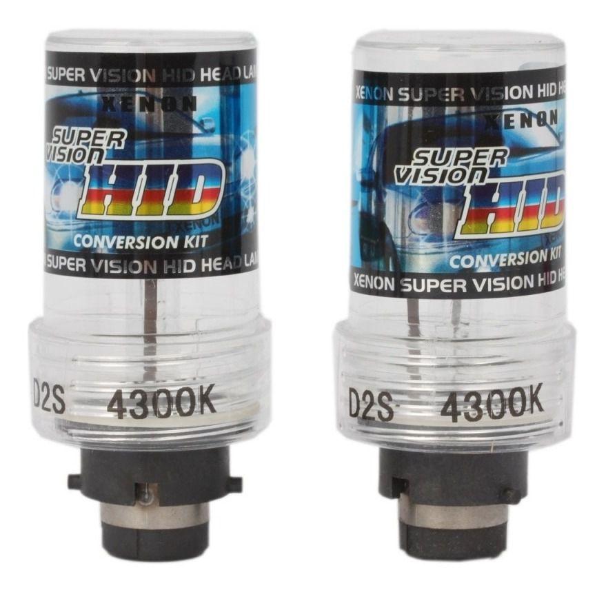 Lâmpada Xenon D2s Para Reposição 4300k