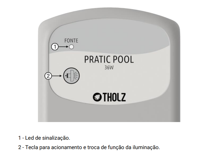 Módulo Rgb Touch 36w - Pratic Pool