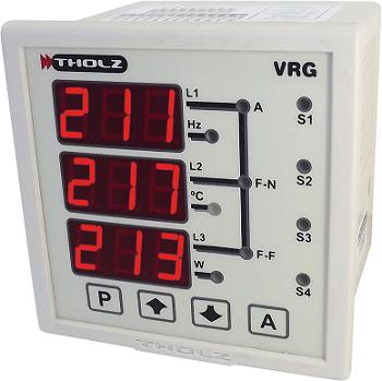 Multimedidor De Energia Trifásico Vrg330r 90~240vca