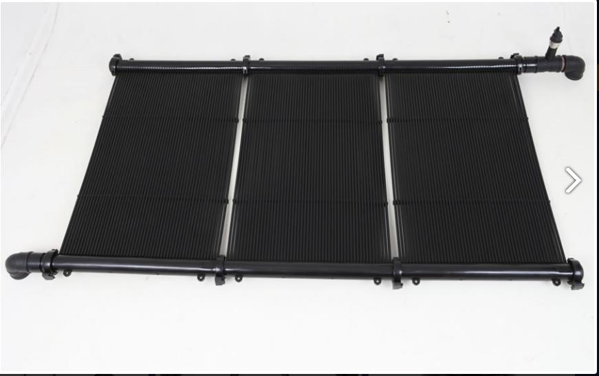 Placas Aquecimento Solar Piscina 2,00x0,50m