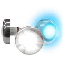 Power led Azul 6W Inox
