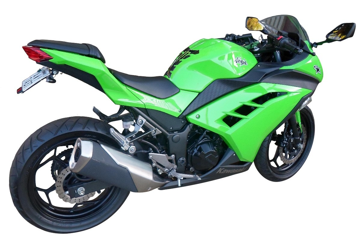 Suporte De Placa Eliminador Rabeta Kawasaki Ninja 300, Z 300