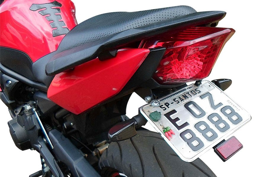 Suporte Placa Articulado Yamaha Xj6 N, Xj6 F
