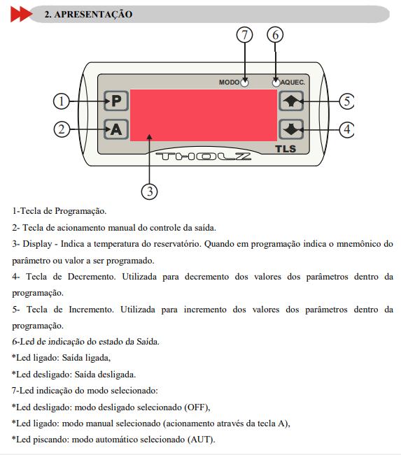Tholz Tls (cdt Termostato Digital Com Programador)