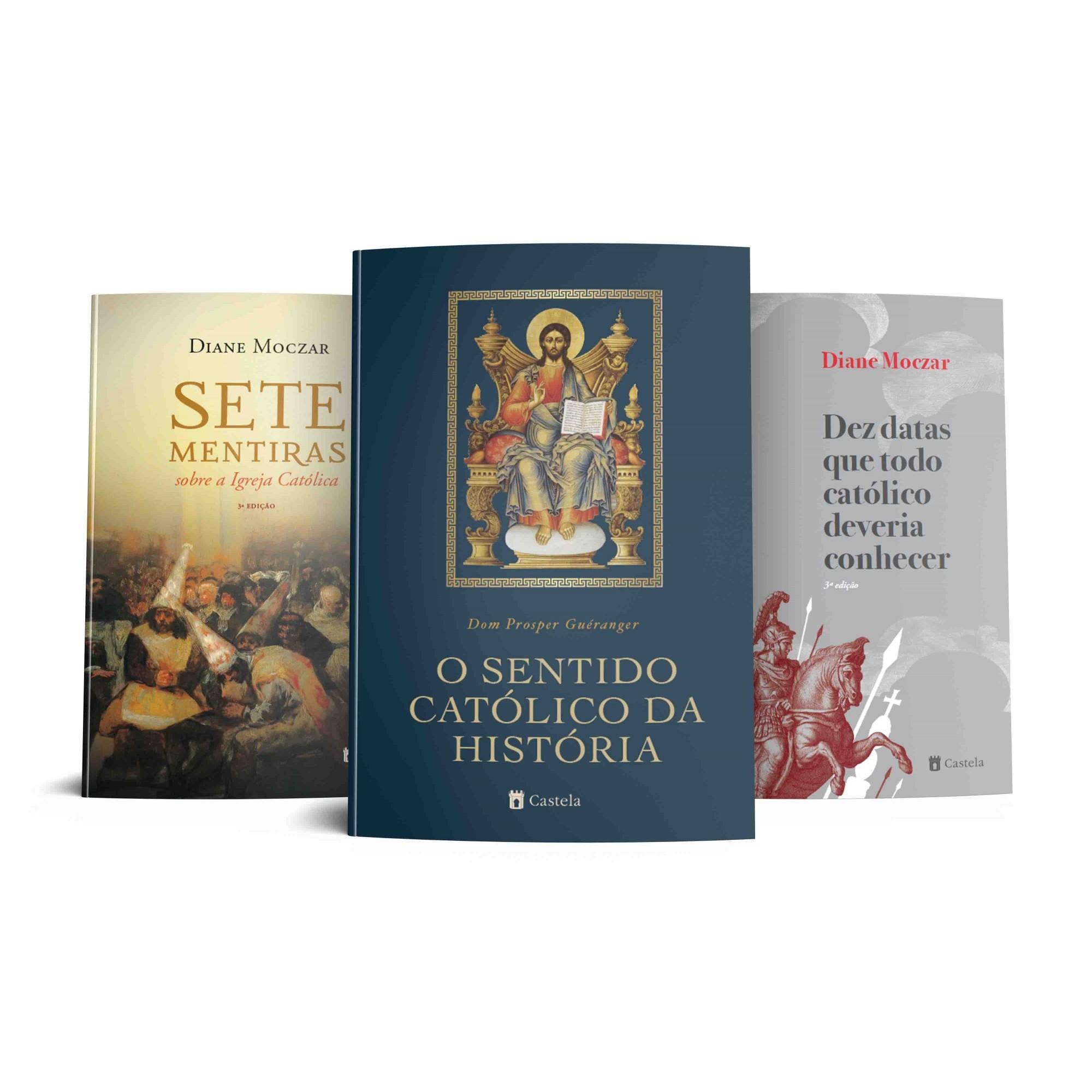 Combo História Católica (Pré-Venda)