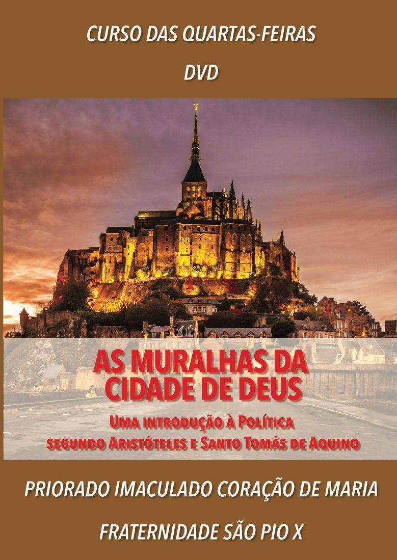 DVD As Muralhas da Cidade de Deus - FSSPX
