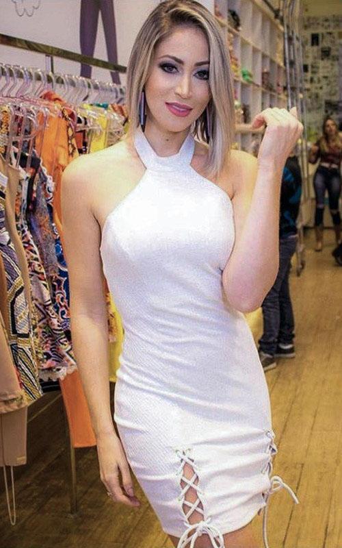 Vestido Limone Tubinho Malha - Algodão Cru - Joana Paladini  - ByBalakas - Limone