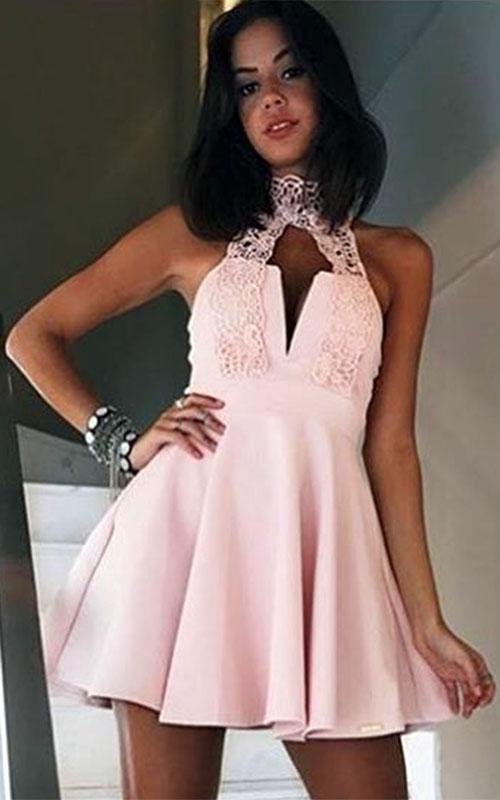 Vestido Limone Rodado Princesa Gola Renda  - ByBalakas - Limone