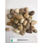 Pedregulho 3: Seixo Rolado ¾ a 1 - para Tratamento de Água - SACO 25KG