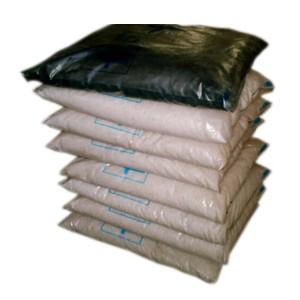 Carga filtrante 03 camadas Fusati + carvao ativado: para filtro modelo INDICO 800 a 1.000 litros/ hora