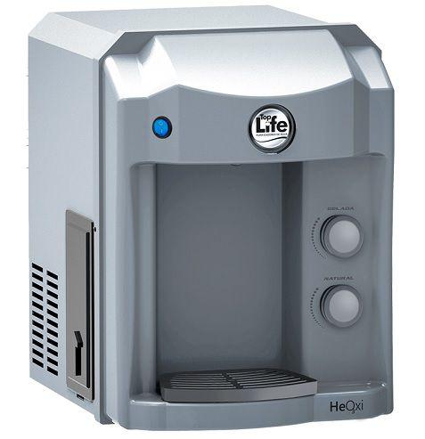 Filtro de água Alcalina e Ozonizada Top Life New HeOxi 127v  | Prata