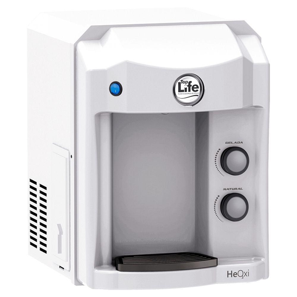 Filtro de água Alcalina e Ozonizada Top Life New HeOxi 127v | Branco