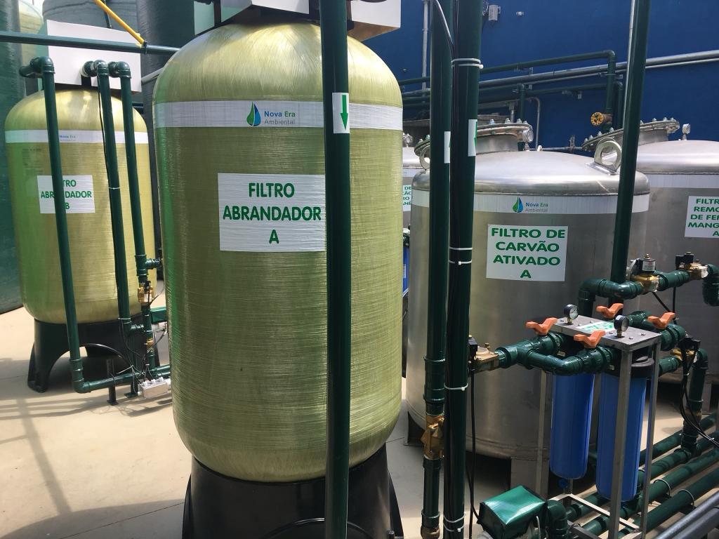 """FILTRO NEA60 auto: de 7.500 a 11.000 litros/hora  ou  7,5 a 11m3/h - PADRAO 24X72"""" - inclusa válvula seletora automática, crepinas e tubo central"""