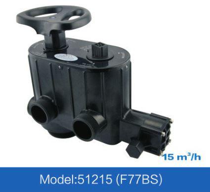 """FILTRO NEA60: de 7.500 a 11.000 litros/hora  ou  7,5 a 11m3/h - PADRAO 24X72"""" - inclusa válvula seletora  F77BS, crepinas e tubo central"""