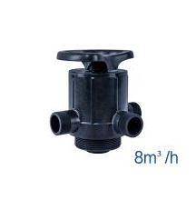 NEA46FT Filtro p/ remoção de Ferro e Manganês + turbidez: 2.600 a 4.200 litros/hora: kit (zeólitas, vaso, válvula manual, tubo central e crepinas)