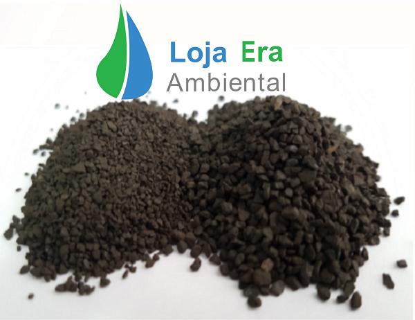 Filtro para remoção de Ferro e Manganês 800 a 1.000 litros/hora: kit com 75kg de zeólita + vaso  com válvula manual + tubo  centrale crepinas