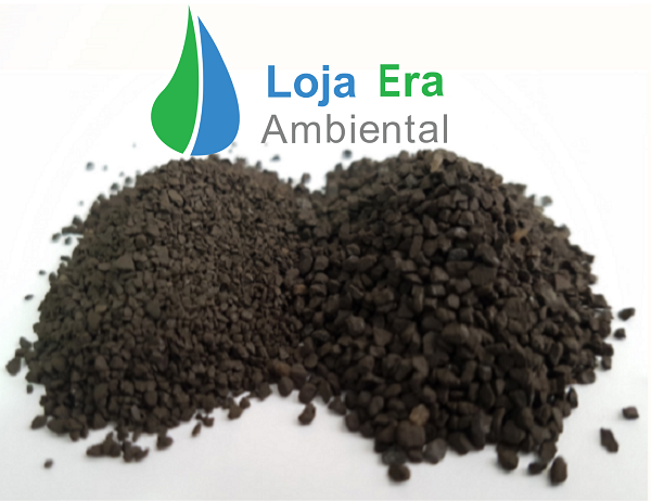 NEA26FT Filtro p/ remoção de Ferro e Manganês + turbidez: 700 a 1.400 litros/hora: kit (zeólitas, vaso, válvula manual, tubo central e crepinas)